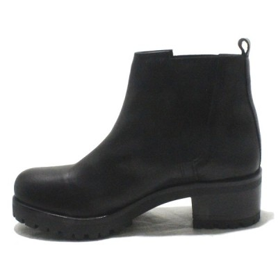 ac6b477ae7a Pons Quintana 8681.012 Kansas - Leather Ankle Boots with High Wedge ...
