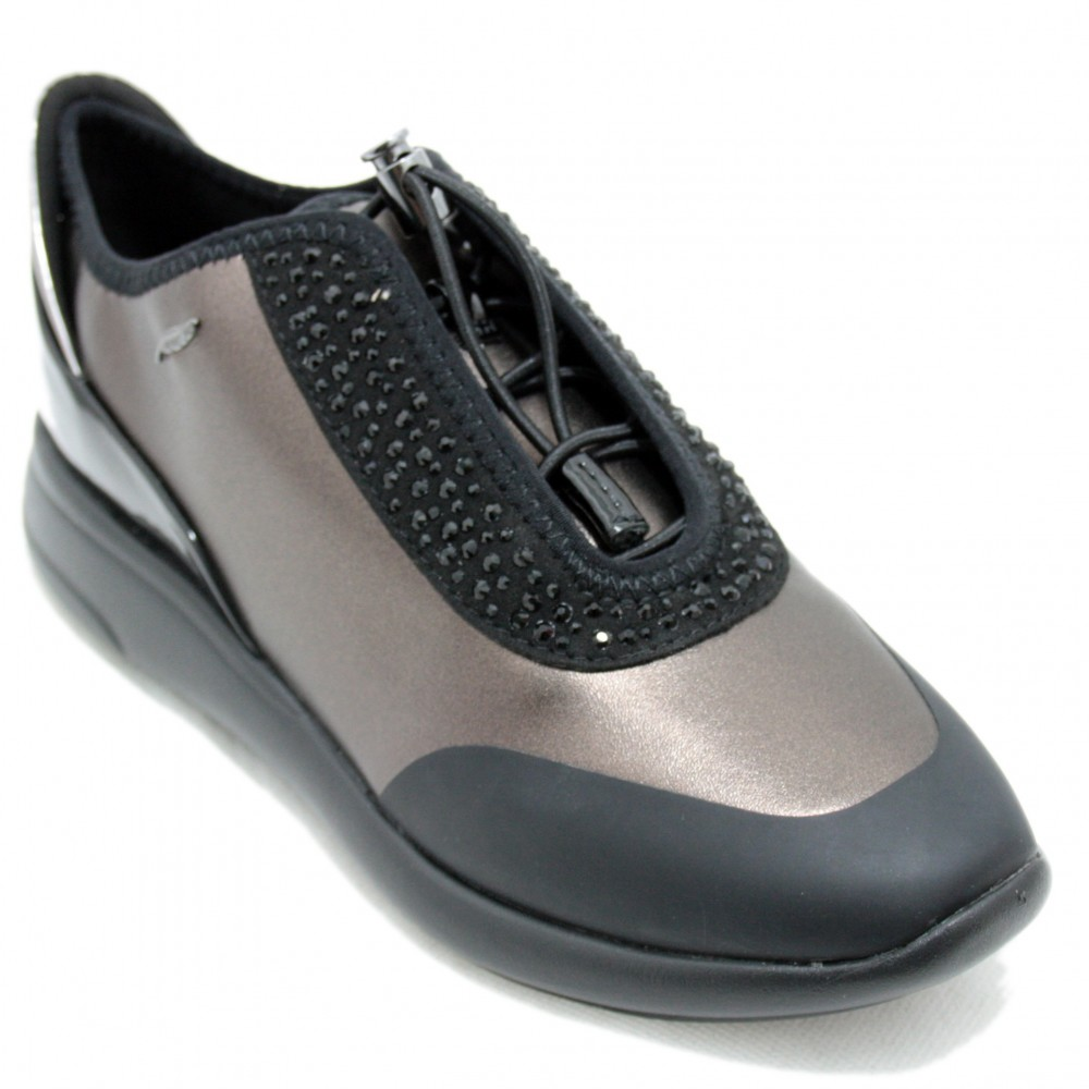 new style 7ebff 35568 Geox Ophira - Adaptable and breathable shoes with bright Size 36 Color Dark  Brown