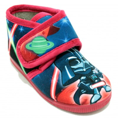 Vulcabicha 1079 Red- Slippers of Star Wars