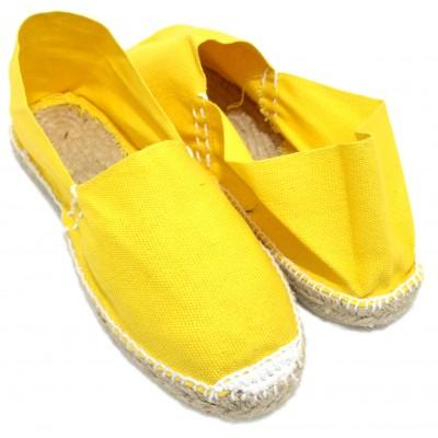 Alpargatas Cámping Amarillas