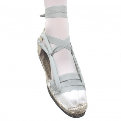 Espadrilles Tres Vetes Light Grey