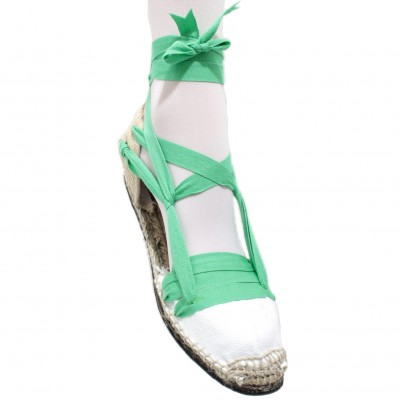 Espadrilles Tres Vetes Light Green