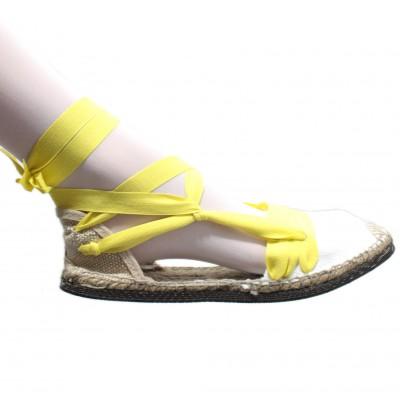 Espadrilles Tres Vetes Yellow