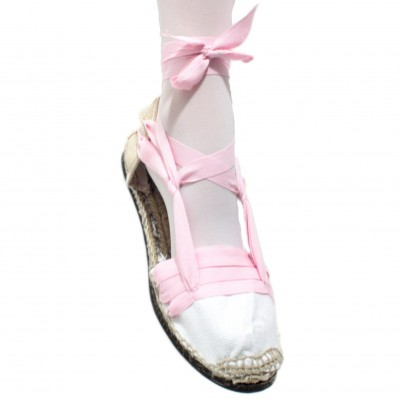 Espadrilles Tres Vetes Light Pink