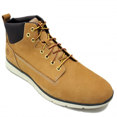 Timberland A191I - Mustard Ankle Boots with Super Lightweight Cords