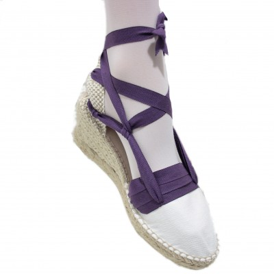 Espadrilles Wedge High Tres Vetes Lilac