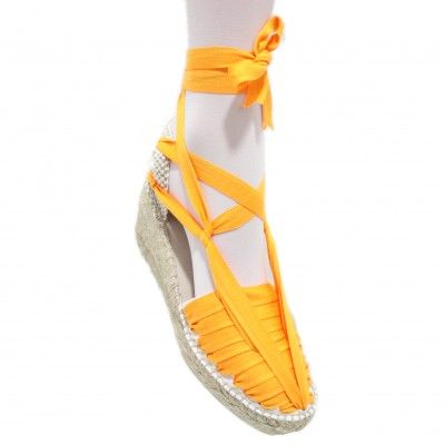 Heel Espadrilles Pintxo or Set Vetes Light Orange