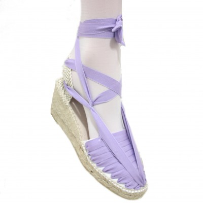 Heel Espadrilles Pintxo or Set Vetes Light Purple