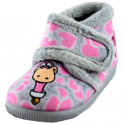 Vulcabicha 1087 PAM PAM - Slippers by House of the Flintstones of the Girl Pam Pam and Dino