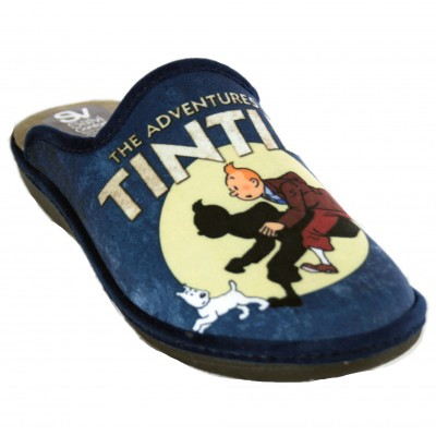 Salvi Confort 09T-351 - Men's House Slippers from The Adventures of Tintin