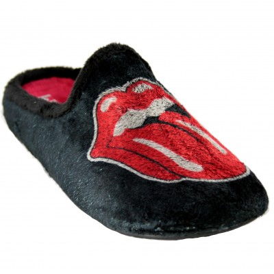 Vulcabicha 1826 - Soft House Slippers With Rolling Stones Tongue