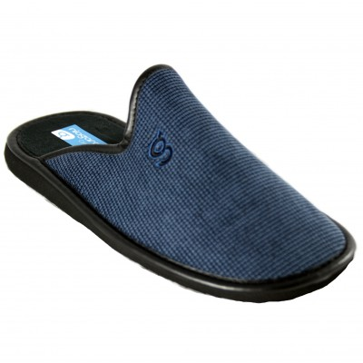 Niagara 6621 - Smooth Lightweight Ulta House Slippers Navy Blue