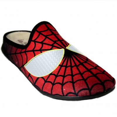 Vulcabicha 1822 - Zapatillas De Estar Por Casa De Spiderman Ojos Brillantes