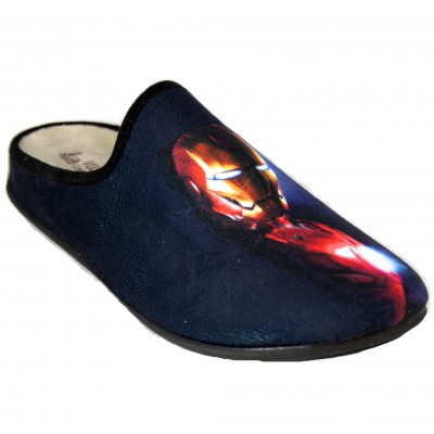 Vulcabicha 1828 - Zapatillas De Estar Por Casa De Iron Man