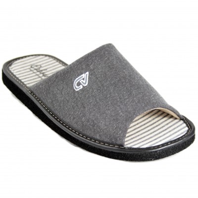 Cabrera 2794 - Ultralight Summer House Slippers Suitable For Smooth Parquet In Gray