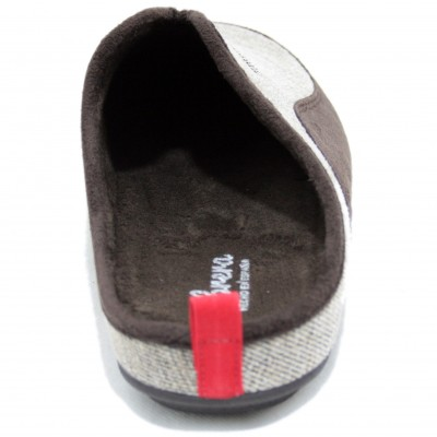 Cabrera 3924 - Deportive Slippers in Colors Brown