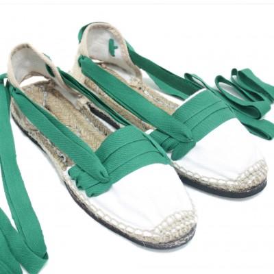 Espadrilles Tres Vetes Green