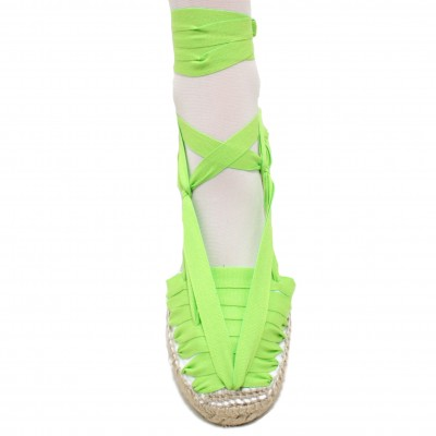 Espadrilles Set Vetes Lime Green