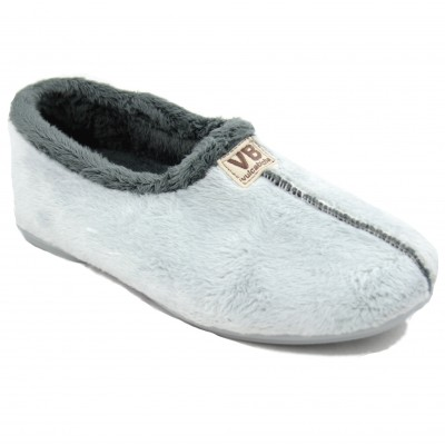 Vulcabicha 4306 - Women's Shoes Closed Soft Comfortable Flat Gray Colors