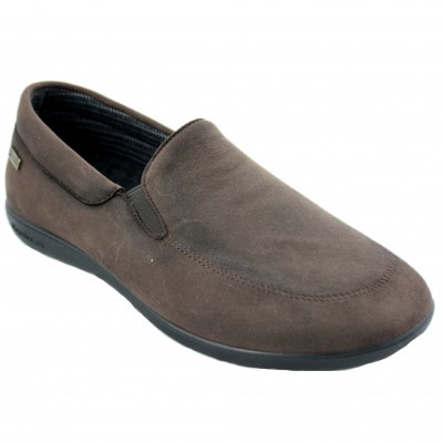 Doctor Cutillas 1513 -  Brown Shoe Without Closure and Water Resistant Water Proof
