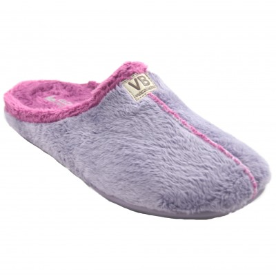Vulcabicha 4311 Lilac - Comfortable and Simple Soft Women's Shoes Lilac with Fuchsia Lining