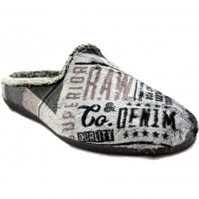 KonPas 12723.921- Slippers at Home Young Man Soft Very Comfortable With Modern Letters