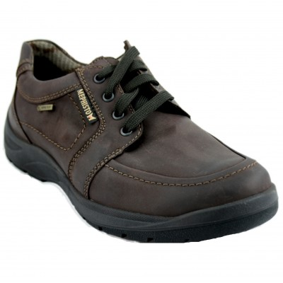 Mephisto Bristol - Waterproof Dark Brown Men's Shoes