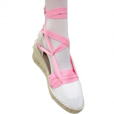 Espadrilles Wedge High Tres Vetes Pink