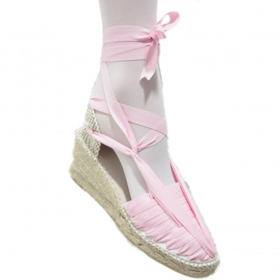 Heel Espadrilles Pintxo or Set Vetes Light Pink